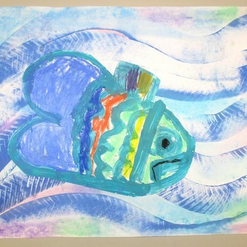 Rybička Z Jezera Víly Kapičky