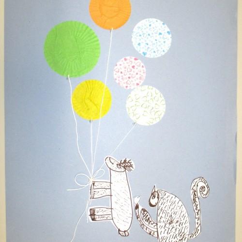 Veselá Zvířátka S Balonky