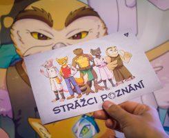 Získejte Originálního Průvodce, Plakát I Omalovánku S Komiksovými Strážci Poznání!